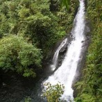 "The third waterfall on the hike to see ""El Silencio"" in Alajuela Province of Costa Rica"