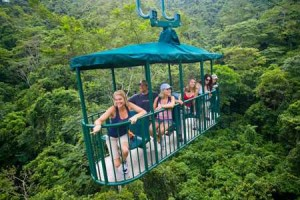 The Aerial Tram Atlantic from San Jose: Enjoy the Costa Rican Rainforests Up in the Air