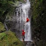 Waterfall Rappelling in Costa Rica