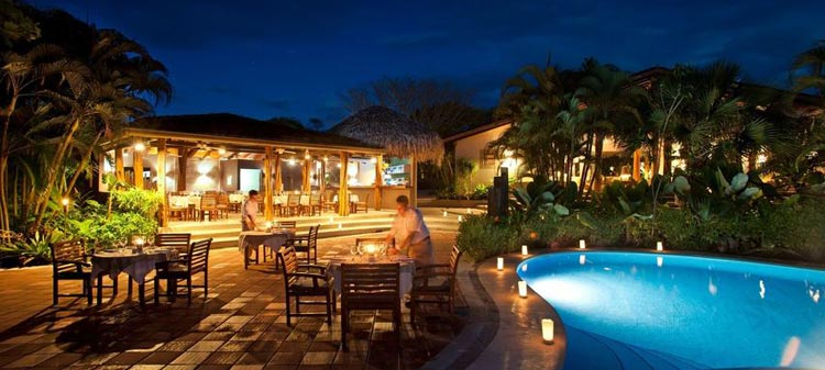 Cala Luna Hotel And Villas Is Situated In The Tamarindo Town On Northwestern Sline Of Costa Rica Nestled White Sand Beach This